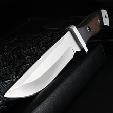 XUAN FENG Outdoor Knife Camping High Hardness Survival Knife Handmade Hunting Straight Knife Tactical Cold Weapon Knife