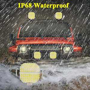 "Image 5 - VISORAK 9"" 378W Super Bright ATV LED Work Light Bar 4x4 4WD SUV Offroad LED Light Boat LED For 4WD 4x4 Car SUV ATV Offroad Truck"