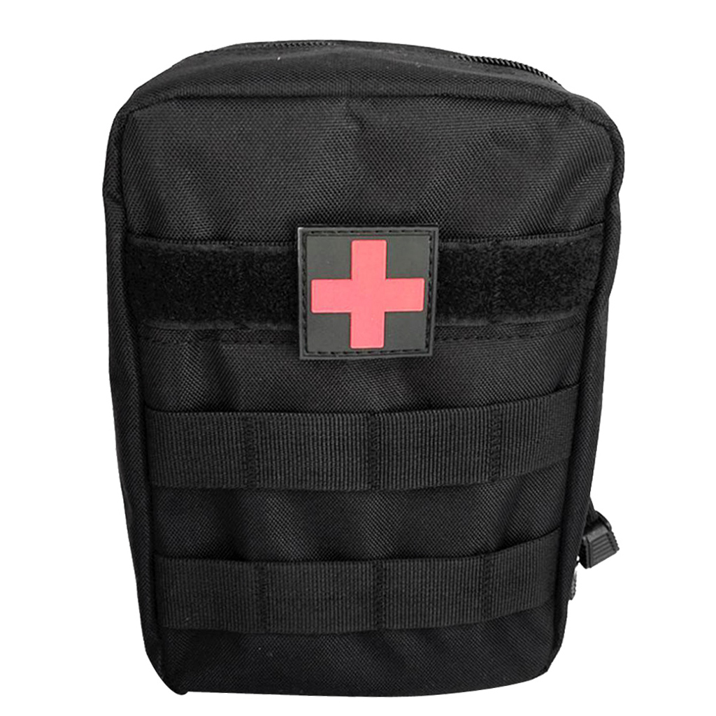 MOLLE EMT First Aid Bag IFAK Utility Pouch Emergency Rescue Survival Trauma Pack (Bag Only)