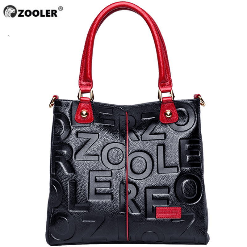 HOT ZOOLER 2019  Luxury Handbags Woman Bags Designer Genuine Leather Bag Women Cow Leather Handbag High Quality Mochila Feminina