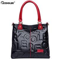HOT ZOOLER 2019 Luxury Handbags Woman Bags Designer Genuine Leather Bag Women Cow Leather Handbag High Quality Mochila Feminina