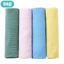 AAG Bamboo Gauze Cotton Baby Blankets Newborn Diaper Cocoon Kid Baby Bath Swaddle Wrap Envelope Infant Newborn Receiving Blanket