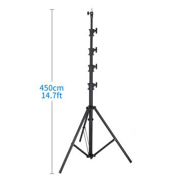Tripod Foldable Light Stand Softbox For Photo Studio Photographic Lighting Flash Umbrellas Reflector 5kg 450cm