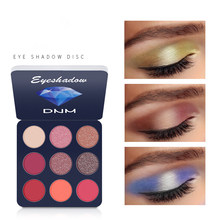 9 Colors Eyeshadow Palette Waterproof Makeup Palette Matte Shimmer Pigmented Powder Make Up Warm Earth Color Eyeshadow
