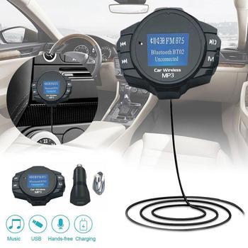 Ładowarka samochodowa sprzęt Auto Bluetooth dostarcza ładowarka Modulator FM Stereo odtwarzacz MP3 Adapter Audio nadajnik wsparcie U dysku tanie i dobre opinie NoEnName_Null NONE CN (pochodzenie) Car Bluetooth Supplies Nadajniki fm Bluetooth hands-free calling As Shown 5V2A