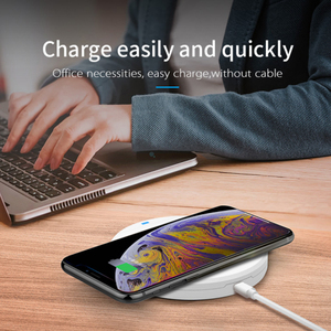 Image 5 - 10w qi wireless fast charger with usb type c wireless charging pad with smartphone mount holder 3 in 1 wireless charger station