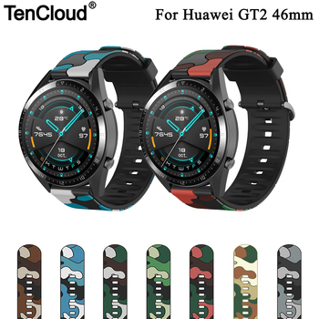 Replacement Band For Huawei GT2 Strap For Honor Magic Watch 2 Wristband For Huawei Watch GT 2 46mm/GT 2e/GT Camouflage Bracelet leather bracelet watchband wrist band for honor magic for huawei watch gt 2e gt2 46mm bracelet strap for huami amazfit gtr 47 mm