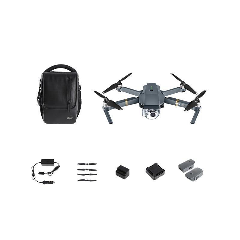 DJI Mavic Pro Fly More Combo 27 mins Flight time 7KM Control range 3 axis Gimbal 4K Video Portable drone|Camera Drones| - AliExpress