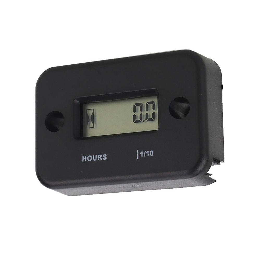 Random Color Gauge Hour Meter 95cm Practical Electronic Tachometer Meter Gadget Digital Display Safe Accumulated Timer Engine
