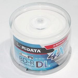 Image 4 - 50 パック/1 ridata/ritek ボックス a + 品質ブランクインクジェット印刷可能なブルーレイ dl 2 8x デュアル層 50 ギガバイト bd dl ディスクオリジナルケーキボックス