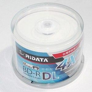 Image 4 - Caja de inyección de tinta en blanco RIDATA, doble capa, 50GB, disco DL original, 50 unidades