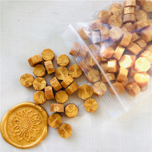 Image 3 - 100pcs/lot vintage sealing wax tablet pill beads granule/grain/strip sticks for envelope wedding Wax seal ancient sealing wax