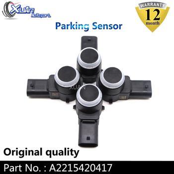 XUAN 4 Uds coche aparcamiento PDC Sensor A2215420417 para Mercedes W211 W219 W203 W204 W221 S211 E-Klasse GL320 GL350 ML320 ML350 C320