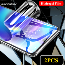 XINDIMAN 25D Full hydrogel film for xiaomi play explosion-proof Front+Back screen protector xiaomiplay protective glass Film
