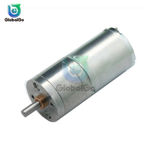 25GA 370 DC reduction gear motor 12V/300RPM RPM Micro Speed Gear Motor With Metal Gearbox Wheel