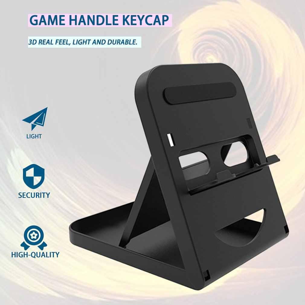 Foldable Game Console Stand Adjustable Portable Bracket Holder Special for Nintend Switch Console TNS-1788