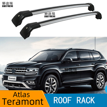 roof rack  rail (cross beam) for VOLKWAGEN Atlas TERAMONT 2016-2019 thicken aluminum alloy, quality,hot sale in China