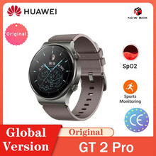 HUAWEI Uhr Globale Version GT 2 Pro SmartWatch 14 tage Batterie Lebensdauer GPS Drahtlose Lade Kirin A1 GT2 Pro In lager Ver راقب