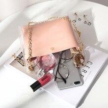 Clear Purse Bag Handbag Women Pure Color Jelly Bags for Women 2019 Wallet Women Leather Handbags Makeup Bag Girls Purse Torebka