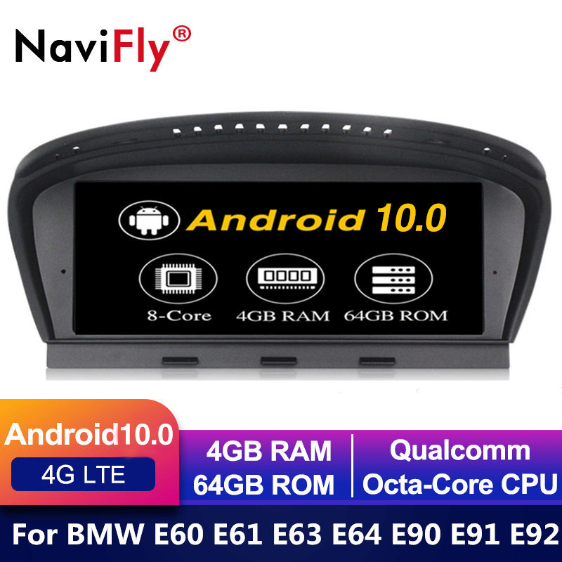 IPS Android 10 Car dvd radio multimedia player for BMW 5 Series E60 E61 E63 E64 E90 E91 E92 CCC CIC MASK GPS Navigation E60 E90|Car Multimedia Player|   - AliExpress