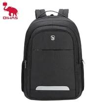 Men's Backpack School-Bag Teenages Large-Capacity Black Women Children Oiwas Travel Fashion