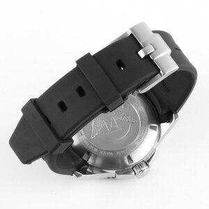 Image 5 - 21MM 20MM סיליקון רצועת השעון עבור כיבוש L3 41mm 43mm חיוג שעון עבור צוללת GMT שעון יד רצועת להקת צמיד גומי כלים