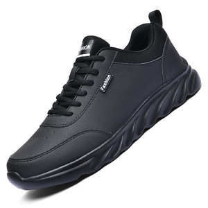 Men Casual Shoes Leather Men Shoes Sneakers Winter Comfortable Walking Shoes Lightweight Rubber Waterproof Couple Sneakers Men