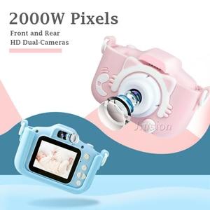 Image 2 - ילדים מיני דיגיטלי מצלמות 1080P ילדי וידאו מצלמה מתנות צעצועי ילד תינוק 2.0 אינץ HD קינדר תמונה צילום מצלמת וידאו