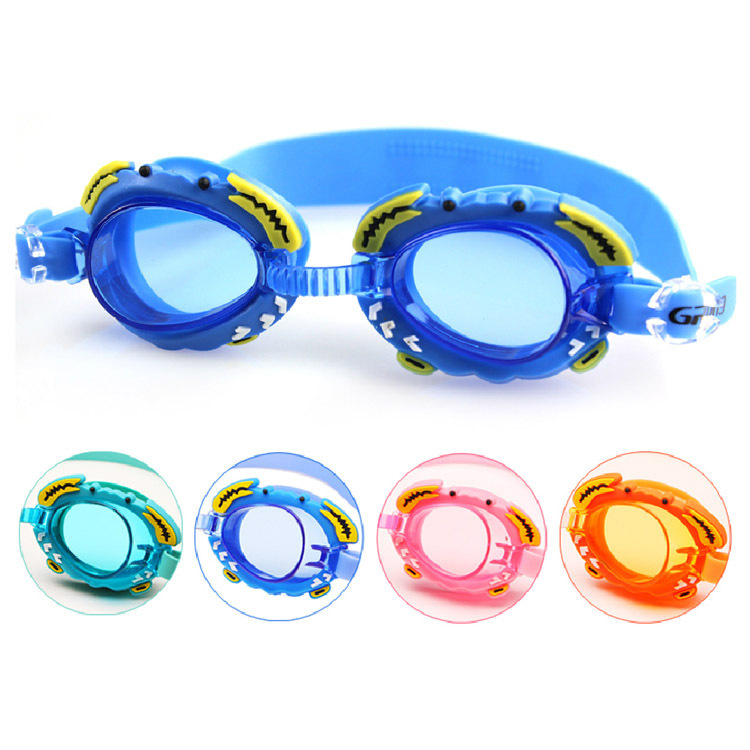 Genuine Product Industry Cartoon Men And Women CHILDREN'S Swimming Goggles Training Goggles Send Earplug Goggles Swimming Goggle