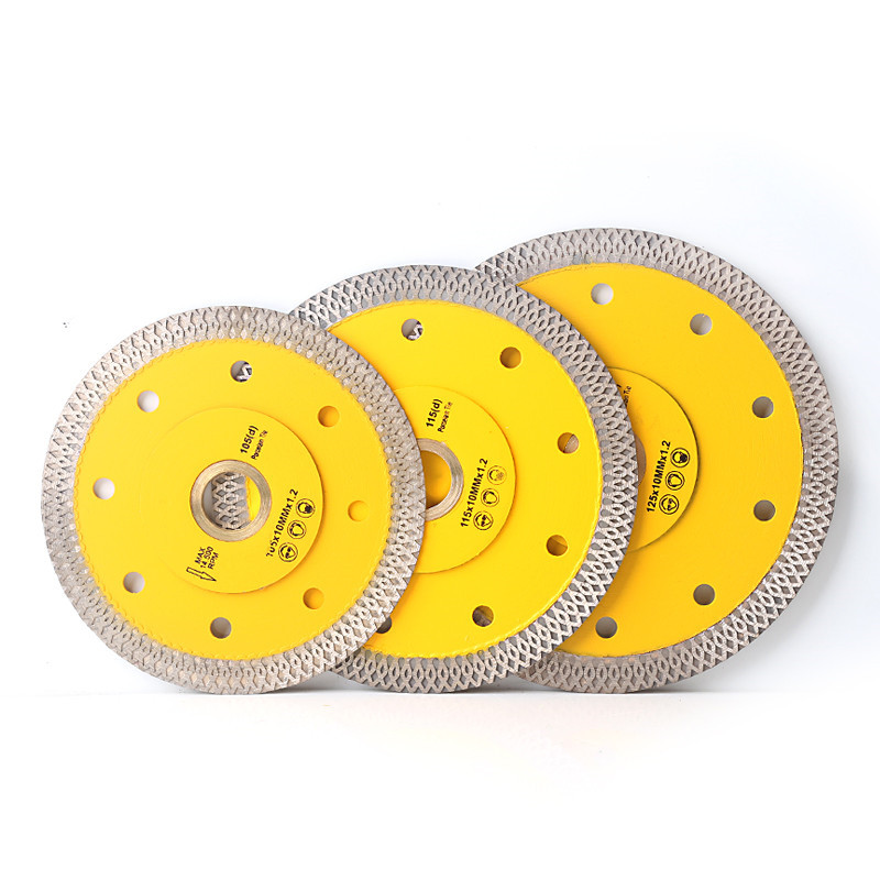 105/115/125mm Super Thin Diamond Saw Blade For Porcelain Tile Ceramic Dry Cutting Aggressive Disc Marble Granite Stone Saw Blade