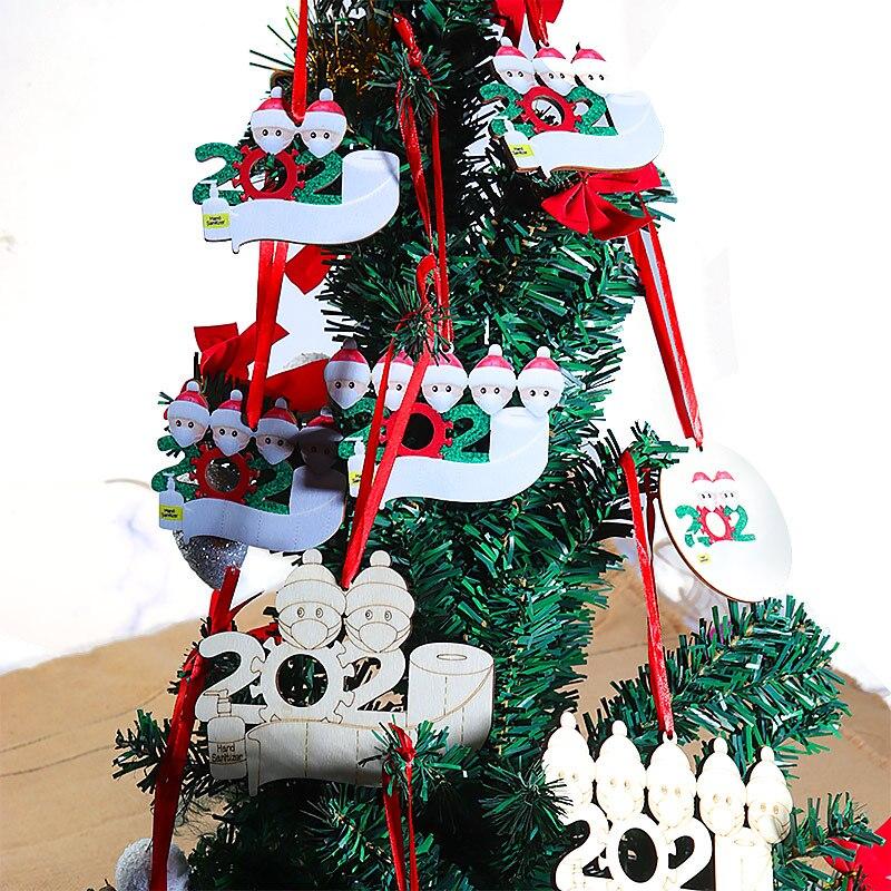 Купить 1 набор деревянные рождественские diy рукописные именные благословения
