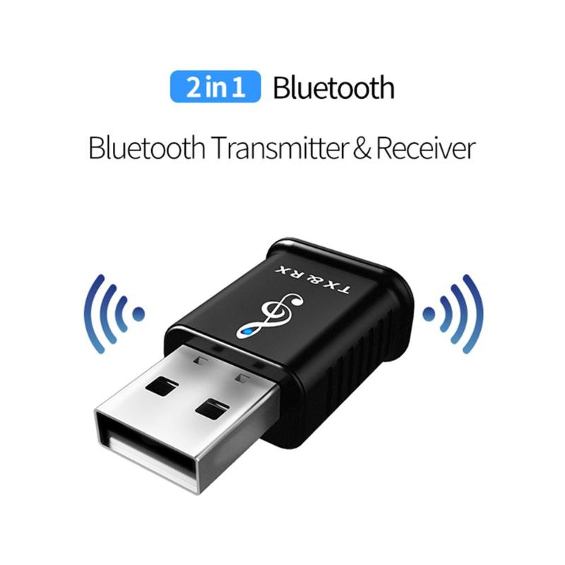 MSD168 <font><b>Bluetooth</b></font> <font><b>5.0</b></font> <font><b>USB</b></font> Receiver Transmitter Wireless Audio Adapter Dongle for Headset/Speaker/Receiver CD Player/Computers image