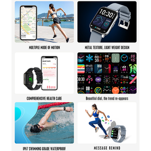 Image 3 - נשים של שעונים P36 Smartwatch כושר Tracker לחץ דם קצב לב צג ספורט גבירותיי גברים של שעונים עבור IOS אנדרואיד