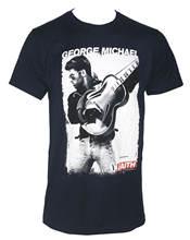 Футболка мужская приталенная хлопковая аутентичная рубашка Джорджа