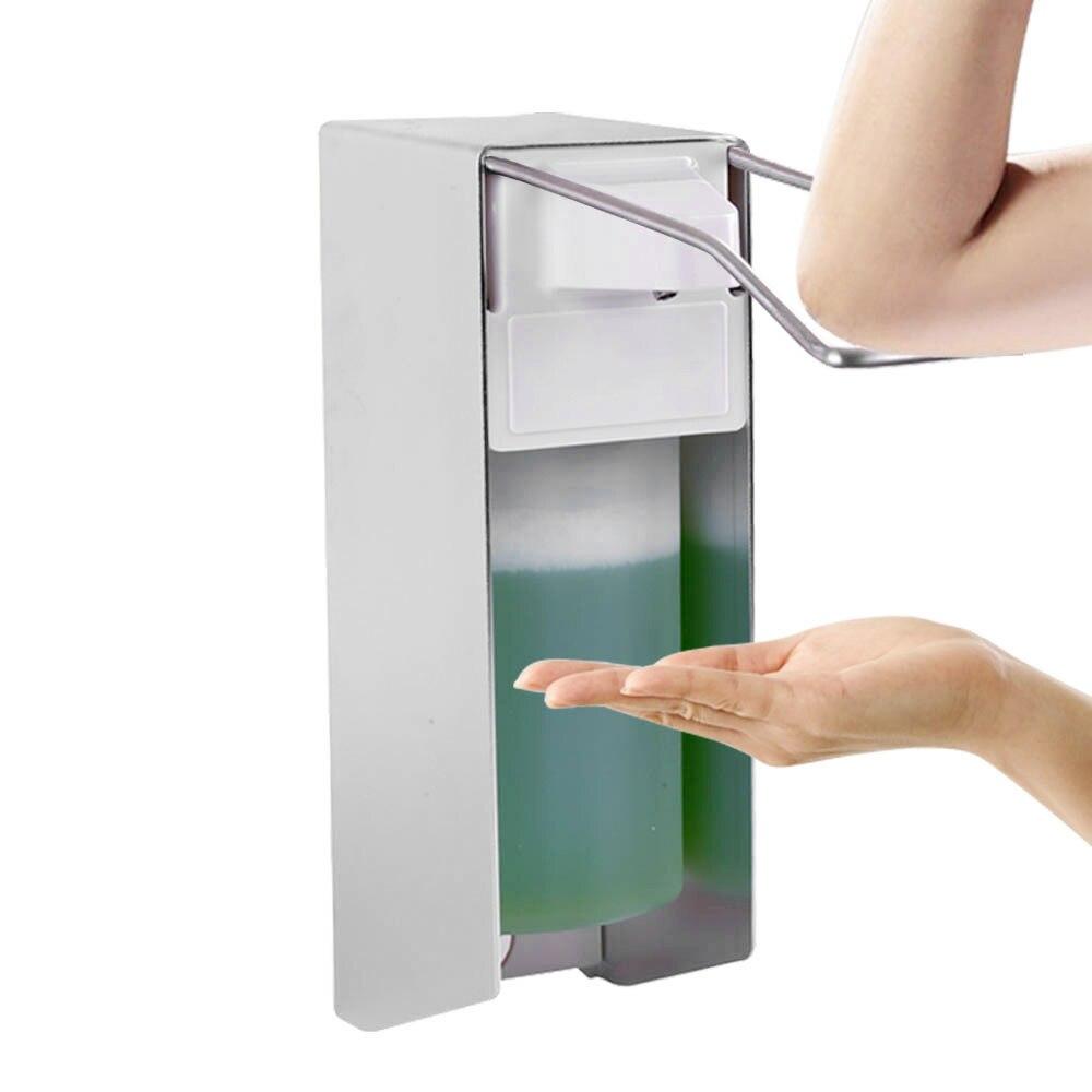 Soap Dispenser Hand Sanitizer Dispenser Wall Mounted Sensor Alcohol Disinfection Spray Dispenser For School Hotel Bathroom