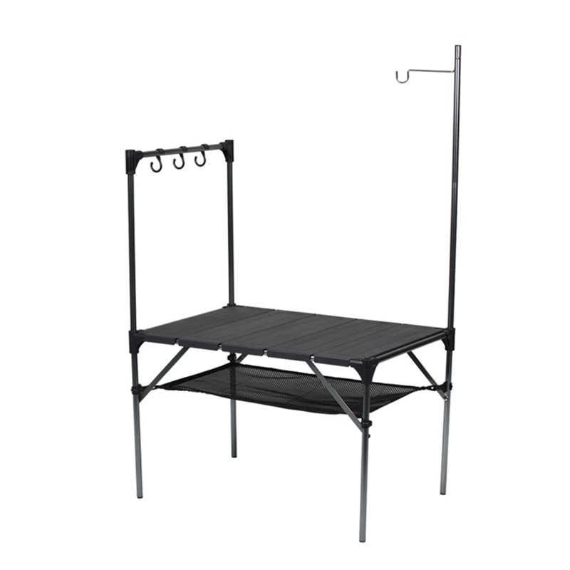 야외 접이식 테이블 캠핑 바베큐 테이블 스티치 조립 알루미늄 플레이트 테이블 울트라 라이트 스톨 테이블 피크닉 테이블