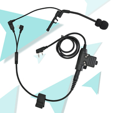 Tactical peltor comtac Y line cable assembly tactical headset accessory suitable for tactical comtac shooting headset