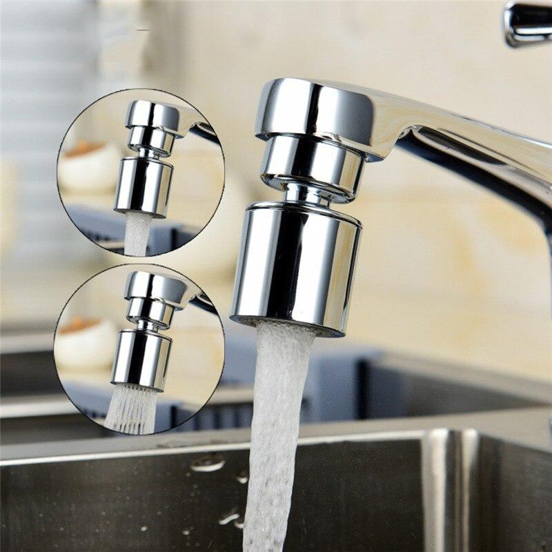 360 градусов Поворотный 2-поток воды кран адаптер смесителя аэратор для экономии воды сопло аэратора для крана Приспособления для Кухня M22/M24