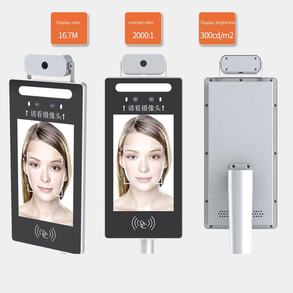 Infrared Temperature Measurement Face Recognition Access Control All-In-One Intelligent Dynamic Camera Access By Face ID