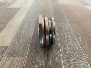 """Image 2 - Anteparo encaixe de compressão 1.5 tc e 2 """"tc homebrew weldless bulkehad 304 aço inoxidável chaleira homebrew anteparo"""