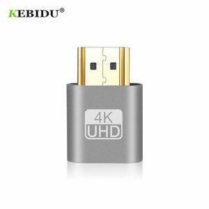 Image 1 - Kebidu 2018 מכירה לוהטת VGA וירטואלי תקע Hdmi DUMMY מתאם וירטואלי תצוגת אמולטור מתאם Ddc EDID תמיכת 1920x1080 p עבור וידאו