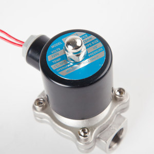 """Image 2 - Stainless steel Electric Solenoid Valve 1/4"""" 3/8"""" 1/2"""" 3/4"""" 1"""" Normally Closed Pneumatic for Water Oil Air gas 12V/24V/220V/110V"""