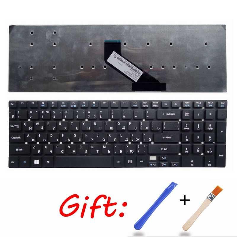 Nuevo teclado ruso para ordenador portátil para Acer Aspire ES1-512-C4DW N15W4, ES1-512, ES1-711, RU, teclado