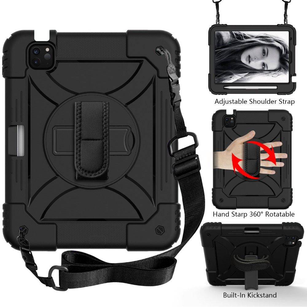 iPad Armor iPad 2020 3 10.9 Kids Layers Hybird Shockproof For for 4 Case Tablet Air Case