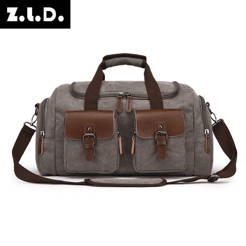 Европейская и американская дорожная сумка, Холщовая Сумка, дорожная сумка, мужская сумка на плечо, сумка мессенджер
