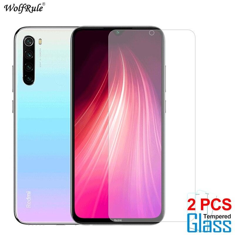 2Pcs Glass For Xiaomi Redmi Note 8 8 Pro Screen Protector Tempered Glass For Xiaomi Redmi Note 8T Glass Protective Phone Film