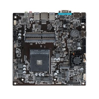 for AMD A320 Thin ITX Industrial Control Motherboard AM4 32G Dual-Channel Desktop All-In-One MINI Computer Motherboard