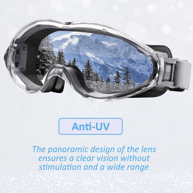 ZOHAN 2PCS Safety Glasses Protective Goggles Anti-UV Waterproof Tactical Sport Protection Glasses Eyewear Eye Protection Riding 5
