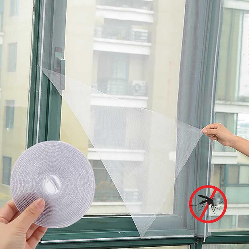 30cm x 150cm/ 200cm * 150cmFly sivrisinek pencere Net tel örgü elek odası sivrisinek perdeler Net koruyucu perde sinek ekran iç
