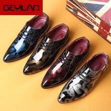 Oxford sapatos masculinos de luxo italiano tamanho grande vestido de casamento sapatos corporativos para homens sapatos social scarpe uomo eleganti